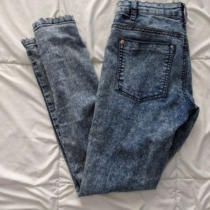 Cotton On Acid Wash Jeans